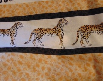 Leopard Fabric , Animal Fabric, Timeless Treasure Fabric, Curtain Fabric ,Cushion Fabric, Leopard Squares ,Jungle Animals