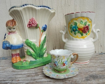 Cute Cottage Chic Trio!