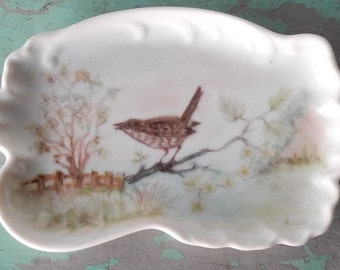 Sweet Hand Painted Pin Dish!