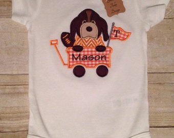 Tennessee Smokey Baby Onesie Personalized, Tennessee Vol Baby