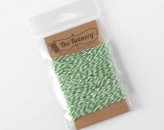 The Twinery Twine - Peapod Green