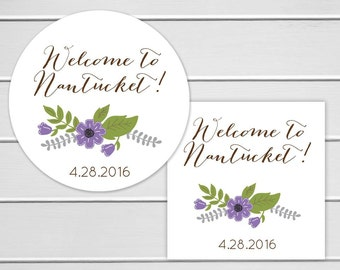 Welcome To Stickers, Wedding Welcome Sticker, Destination Wedding Stickers, Wedding labels (#247)