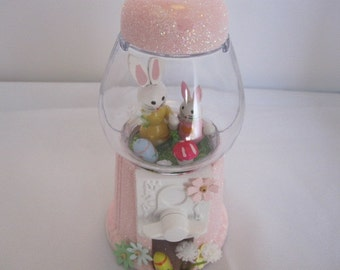 Miniature Easter Diorama Bubblegum Machine