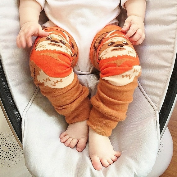 Ewok Leg Warmers For Babies