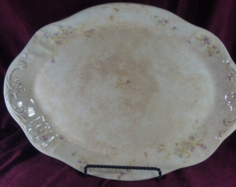 Antique Vintage Etruria Mellor and Co 17 Inch Platter Pattern MLR8