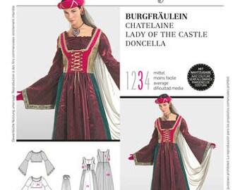 Burda Pattern 2509 Burda Style, Lady of the Castle