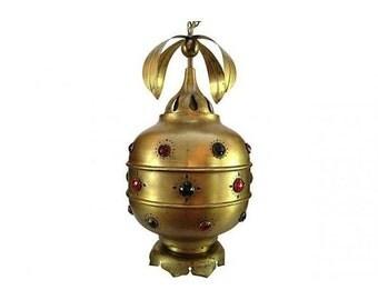 Moroccan Brass Pendant Light
