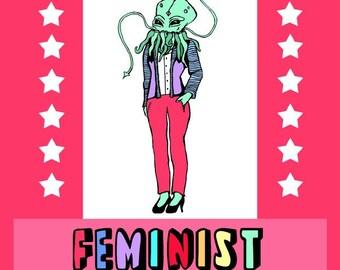 GetBullish Feminist Coloring Book