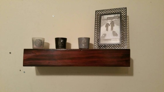 Wood Floating Shelf Rustic Home Decor Rustic By