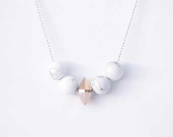 Love Affair Marble Necklace