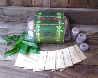 Grow your own herb garden seed kit