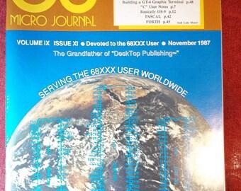 68' Micro Journal - 1987 Vol. IX