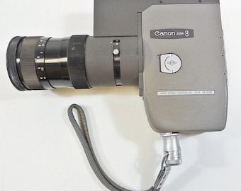 Vintage Canon Reflex Zoom 8 Movie Camera 8mm w/ 1959 Yamaji Type Zoom Lens