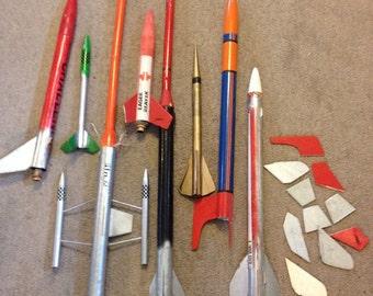 Canarock Vintage Model Rockets 1970's Hobby