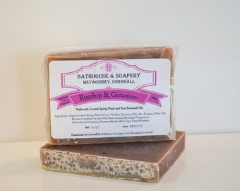 Rosehip and Geranium Shampoo Soap