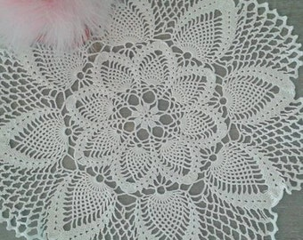 crochet pineapple tableclothe