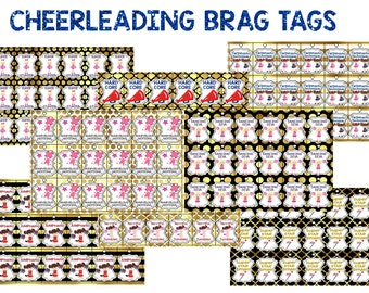 Cheerleading Brag Tags Incentive