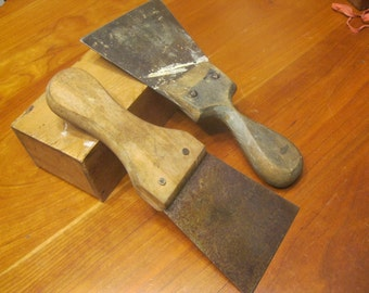 1940's Putty Knives / Paint Scrappers
