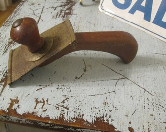 SALE!! 1940's Paint Scrapper , Clapboard Scrapper , Vintage Paint Scrapper