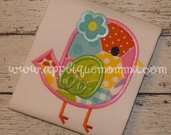 Bird 16 Applique Design