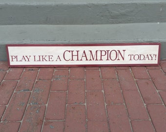Play Like A Champion Etsy