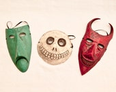 Lock, Shock, & Barrel Masks - Nightmare Before Christmas