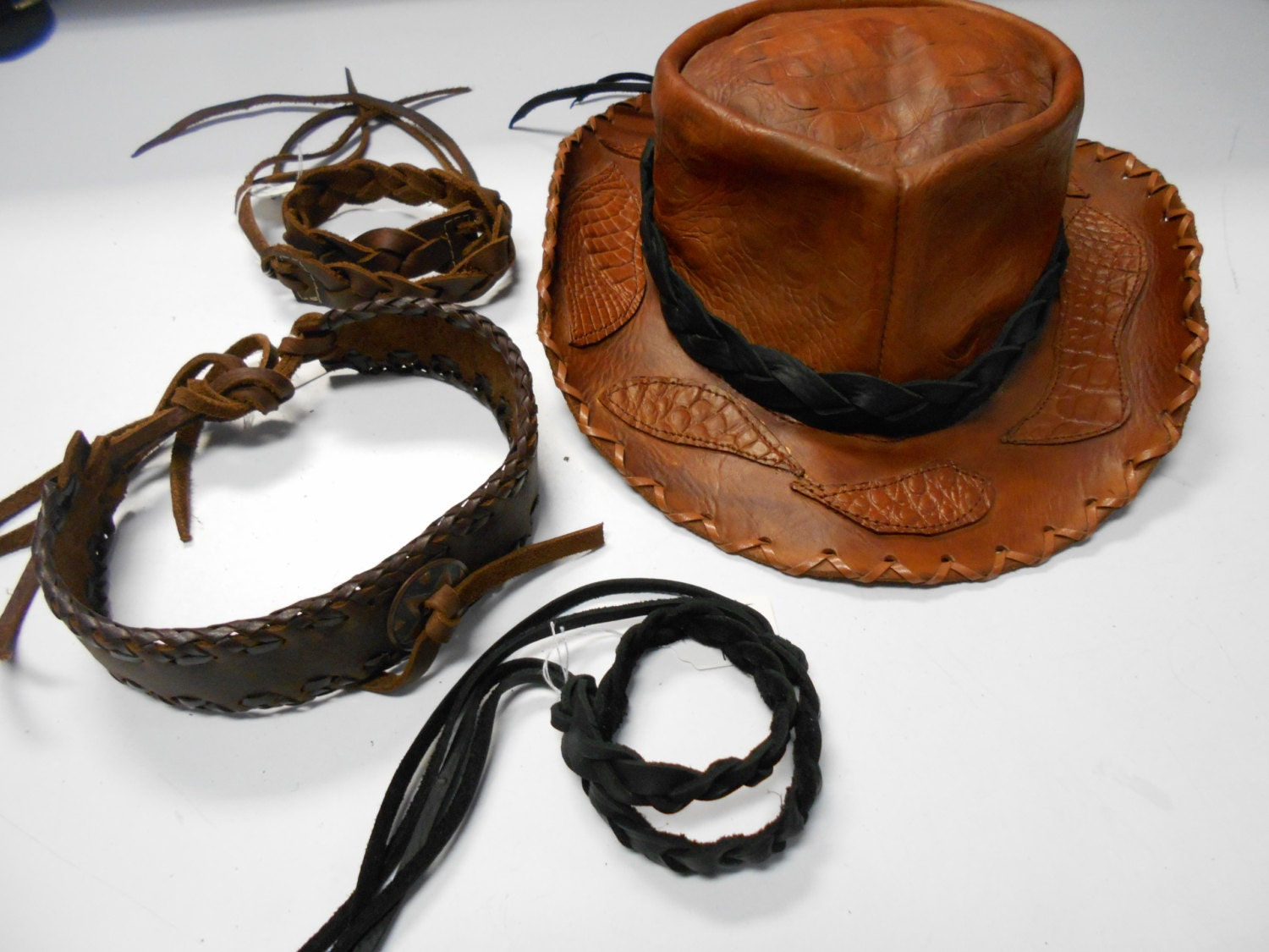 Cowboy Hat Band Hat Band Leather Hat Band