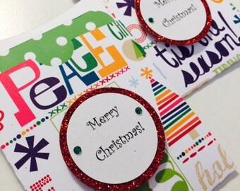 Christmas Gift Card Holder - Bolds and Brights