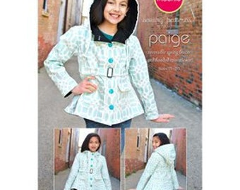 Raincoat Pattern - Modkid's 'Paige'Reversible Hooded Rain Coat and Spring Blazer