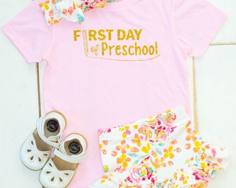 Back to school shirt for girls