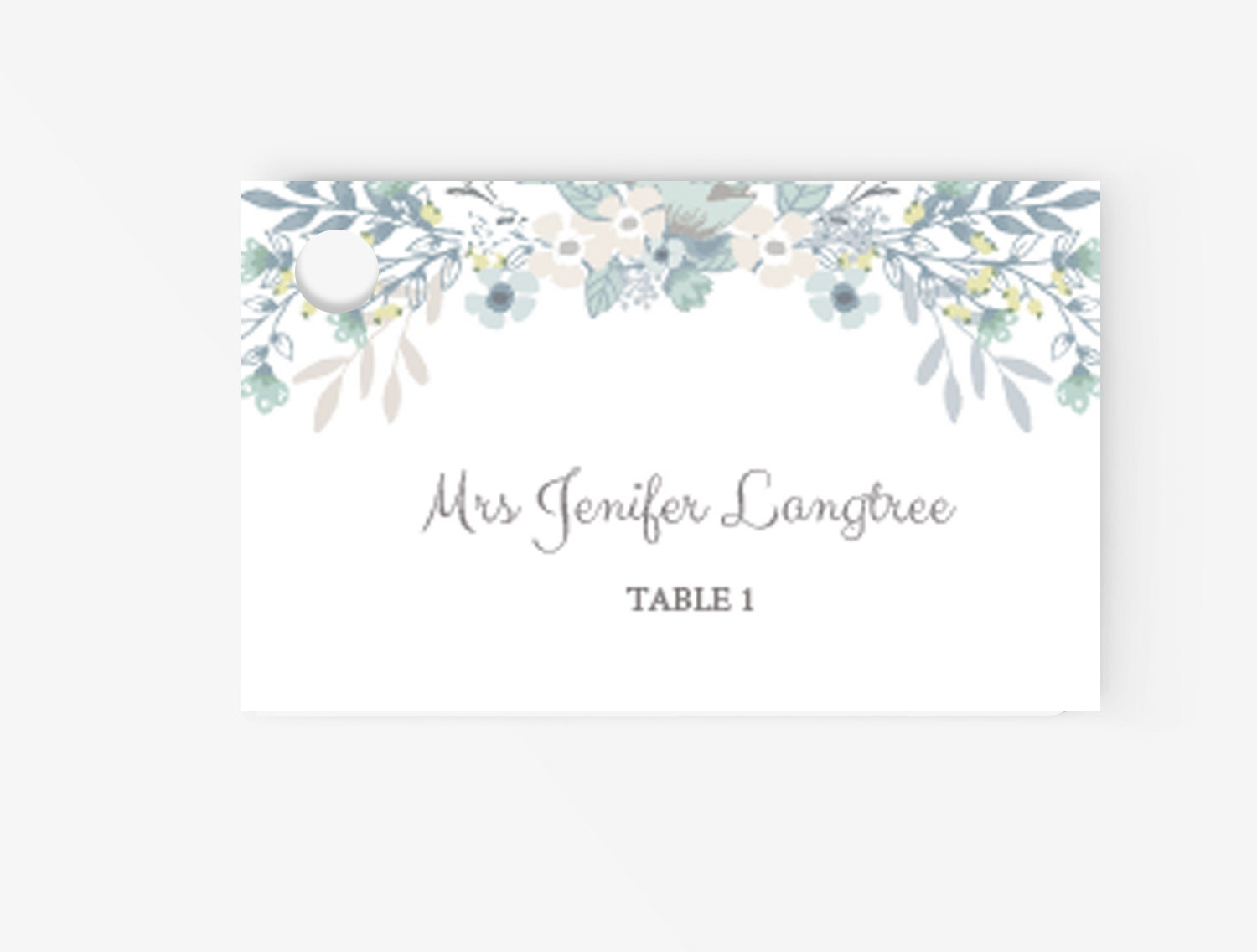 Place card template editable escort tent card instant for Tent place card template