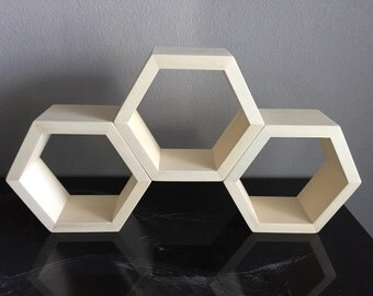 Mini Geometric Hexagon Honeycomb Shelf
