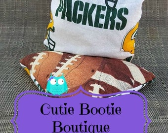 Green Bay Packers football hot cold ouchie bag