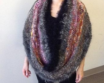 Art yarn scarf