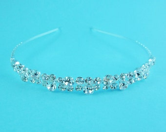 Bridal Headband, Crystal rhinestone wedding headband, bridal wedding hair accessories, wedding headband headpiece, bridal tiara 250034444