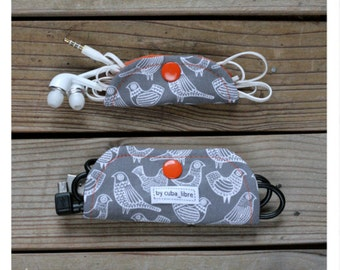 Ear buds & charger holders - Birds