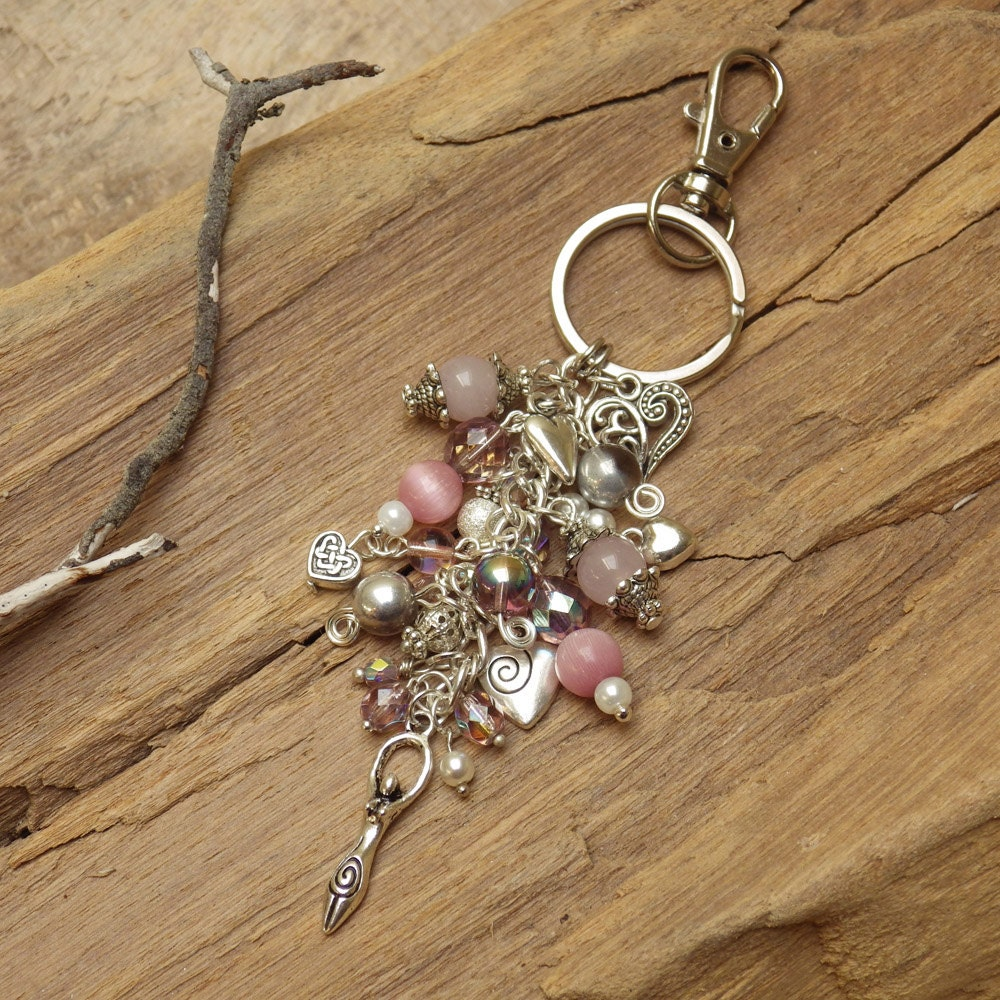 last one goddess wiccan bag charm for purse book