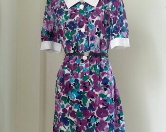 GIVENCHY GLAMOUR, Muti colour Floral Dress Size 15