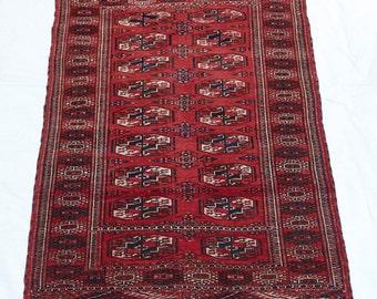 Vintage Turkomon Rug