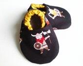Little vikings baby shoes,babyboy shoes,viking baby shoes, soft sole shoes, baby shower gift