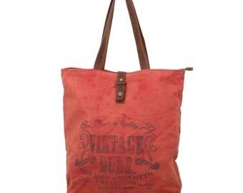 Vintage shopping bag