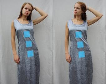 Vintage Womens dress maxi dress sleeveless dress women's clothing womens clothes