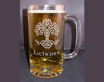 Tankard Beer Mug, Engraved Beer Tankard, Engraved Beer Mug, Beer Mug, Tankard, Engraved Tankard, Personalized Beer Mug