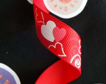 Valentine Hearts Ribbon
