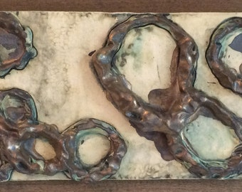 Ceramic Clay Pottery Tile Untitled 8
