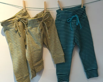 Baby pants with drawstring, 62, 68, 74 52 mt, etc.