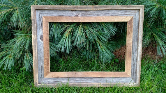 12 X 18 Barn Wood Rustic Picture Frame