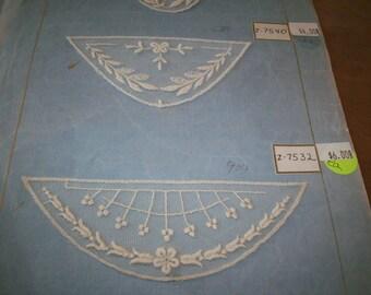 1920s antique net lace applique