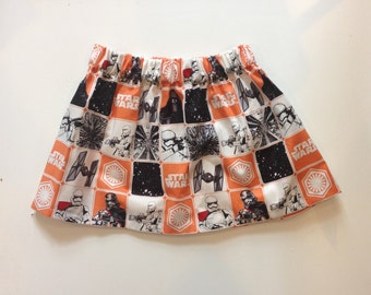 THE FORCE // star wars skirt // baby and toddler skirt