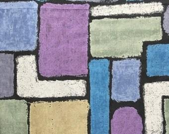 Half yard- Keiko Goke for Yuwa Fabric-Blocks- Made in Japan- Quilting Cotton